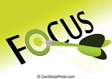 Focus target achieved