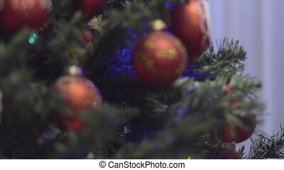 Focusing on Christmas and New Year Decoration. Abstract...