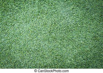 fodbold, eller, soccer, græs felt, baggrund
