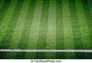 fodbold soccer, græs felt