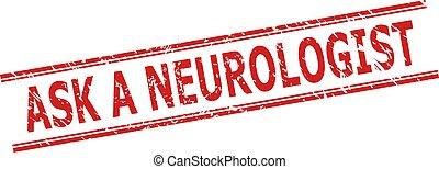 fodrar, stämpel, struktur, neurologen, fråga, dubbel, grunge, parallell