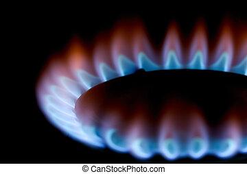 fogão, gás