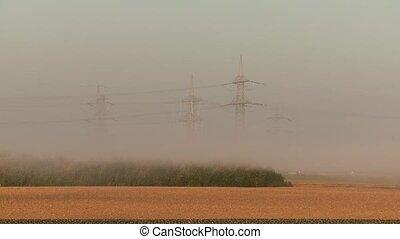 Fog in Morning TIMELAPSE