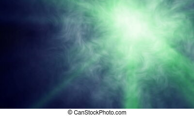 fog light ray shine abstract background motion