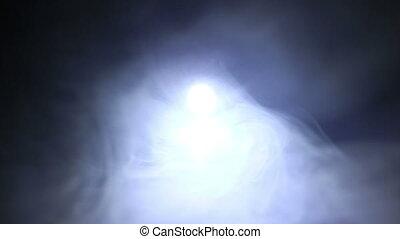 Fog With Flashing Lights