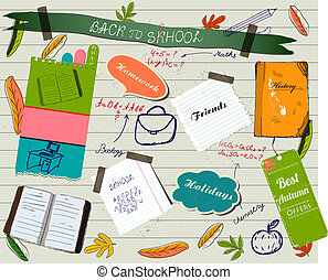 fogad to tanít, scrapbooking, poster.