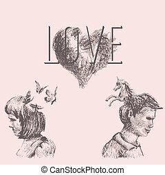 fogalmi, szeret, rajz