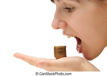 fogalom, étkezési, pénz,  -, krízis, -e