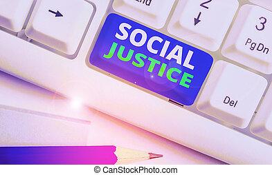 fogalom, ügy, társadalmi, szöveg, szó, vagyon, írás, belül, justice., egyenlő, belépés, society., előjogok