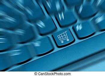 fogalom, bevásárlás online