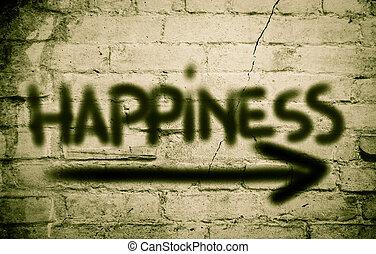 fogalom, boldogság