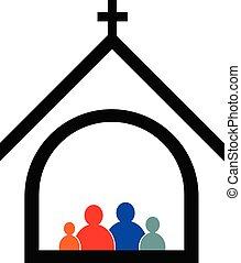 fogalom, család, templom