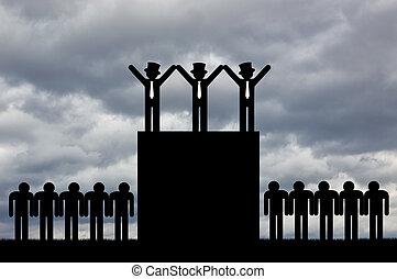 fogalom, egyenlőtlenség, gazdasági