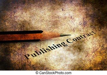 fogalom, grunge, publishing, összehúz