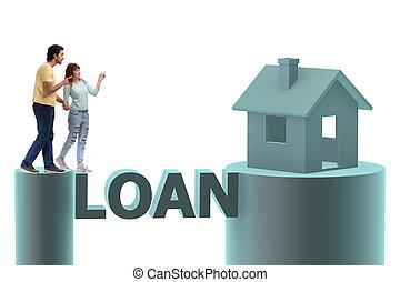 fogalom, közül, család, bevétel, betáblázás kölcsönad, helyett, épület