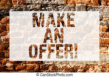 fogalom, művészet, fal, pénz, wall., falfirkálás, valami, specified, kiegyenlít, csinál, írott, hívás, szöveg, tégla, motivációs, jelentés, egy, szeret, offer., akar, összeg, kézírás