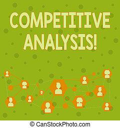 fogalom, szöveg, versenyképes, hadászati, analysis., csevegés, versenytárs, ikonok, módszer, írás, kívül, connecting, online, fej, használt, ügy, kiértékel, networking, szó, megvonalaz, idea., avatar
