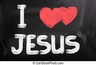 fogalom, szeret, jézus