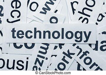 fogalom, technológia