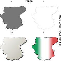 Foggia map Clip Art Vector and Illustration 5 Foggia map clipart