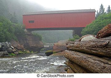 foggy bridge fundy