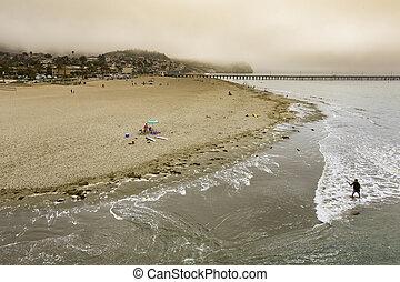 Foggy California Coastal Morning