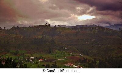 Foggy Ecuador