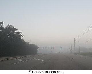 Foggy Morning Commute