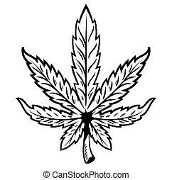 foglia, marijuana