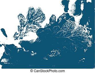foglia, natura, defoliation, quercia, autunno, albero.