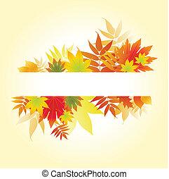 foglie, autunnale