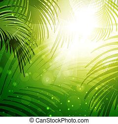 foglie palmo