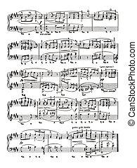 foglio musica