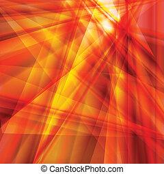 fogo, abstratos, quentes, vetorial, chama, fundo