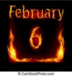 fogo, calendário