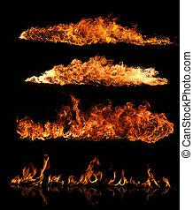 fogo, cobrança