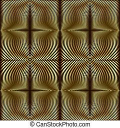 Foil stripes seamless pattern.