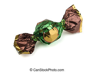 Foil wrapped candy