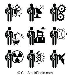 fok, alatt, mérnök-tudomány