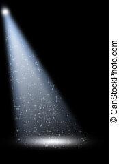 fokozat, reflektorfény, noha, lézer, küllők