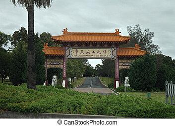 fokuangshan, nan, tien, templo