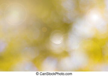 fokus, gelber , bokeh, hintergrund