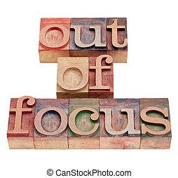 fokus, in, briefkopierpresse, art