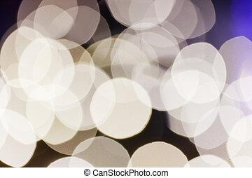 fokus, lichter, hintergrund