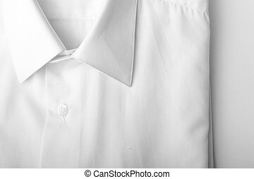 Fold long sleeves shirt. studio shot