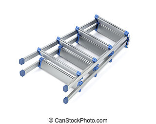 foldable, 段ばしご, アルミニウム