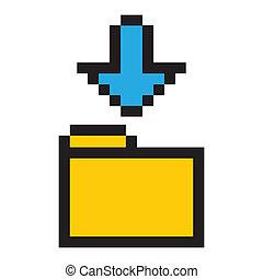 Folder and Arrow Icon