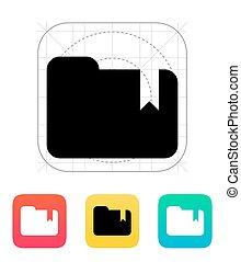 Folder bookmark icon.