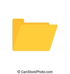 folder file office flat icon design
