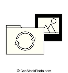 folder file picture data reload